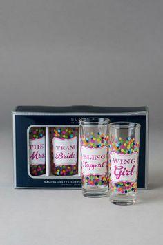 Bachelorette Party Shot Glasses