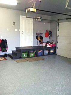 Need Garage Storage Tips On a Budget? Learn Mover Here. Need Garage Storage Tips On a Budget? Learn Mover Here. Garage Doors Prices, Garage Door Sizes, Garage Entry Door, House Entrance, Garage Storage Shelves, Building Garage Shelves, Bike Storage, Tool Storage, Kitchen Storage