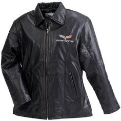 Womens C6 Corvette Lambskin Jacket