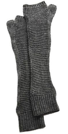 Plush Waffle Knit Arm Warmers - looks like garter stitch on the front and stockinette for the rest. Ninja Goth, Knitting Projects, Knitting Patterns, Waffle Knit, Mitten Gloves, Textiles, Arm Warmers, Knitwear, Knit Crochet