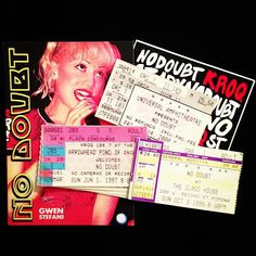 . Ticket Stubs, Concert Tickets, Event Ticket, Presents, Gifts, Favors, Gift