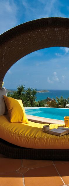 COCCINELLE- ST MARTIN, FRENCH WEST INDIES I WANT TO BE HERE RIGHT NOW.