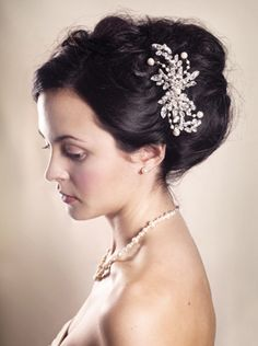 Vintage Wedding Hair Combs I like this #YYWBeautyComp