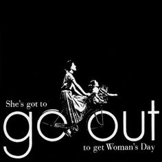 let´s go? v.a.m.b.o.r.a?  revista woman's day - federico 1953 Communication Techniques, Visual Communication, Ladies Day, Going Out, Typography, Creative, Inspiration, Image, Designers