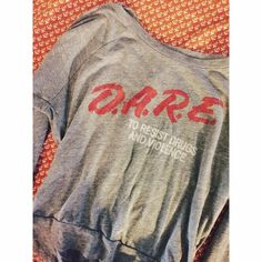 D.A.R.E SWEATER Worn a couple times! Great condition Vintage Sweaters