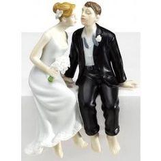Stealing a kiss wedding topper