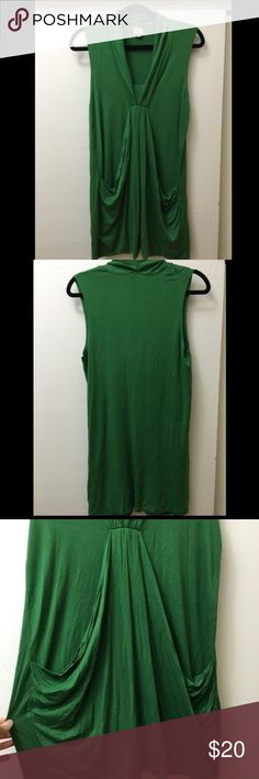 Green Ella moss tunic spandex  tank top Lightly worn!! Great for summer! Message with questions. #ellamoss #green #tunic #tank #top Ella Moss Tops Tunics