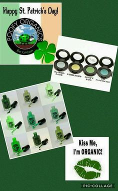 Enjoy 30% off select GREEN products now through St. Patrick's Day! MUST use code: PDAY2017  Valid on the following products: POLISH: 1970's Shag, Minty Green Tea, Poofy Bug, Let it Go, Mint Chocolate Chip, Jamaican Slang, Viridian, Filthy Rich, Green Machine & Icy Spearmint  EYESHADOW: Limelight, The Soothsayer, Poofy Bug & Sacred Sage. SHOP NOW: nholliday.poofyorganics.com