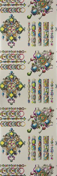 La Main au Collet wallpaper designed by Christian Lacroix