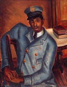 Postman (1934) by Malvin Gray Johnson