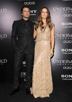 Kate Beckinsale and Len Wiseman at event of Underworld: Awakening (2012)