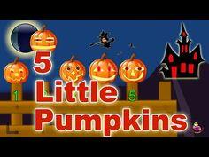 Halloween Song - 5 Little Pumpkins - LittleStoryBug