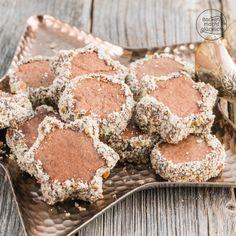 Rotwein-Plätzchen mit Schokolade