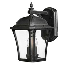 Hinkley 1334MB-LED Wabash Medium Wall Outdoor in Outdoor Lights, Outdoor Wall Lights: LeeLighting.com 229