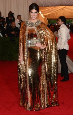 Seriously? A sequin cape?!