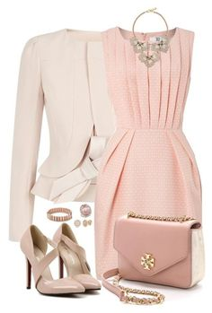 New fashion outfits ideas tory burch Ideas Classy Outfits, Stylish Outfits, Beautiful Outfits, Cute Outfits, Work Fashion, Fashion Looks, Dress Outfits, Fashion Dresses, Modelos Fashion