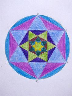 Grade 6 Waldorf Geometric Drawings - Natural Suburbia