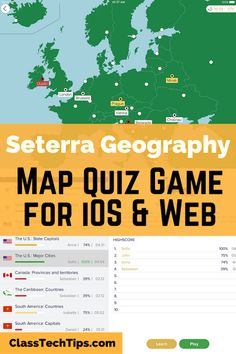 Seterra geography seterraonline on pinterest settera geography is an ios app and online platform for students this map quiz app gumiabroncs Gallery