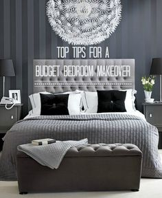 Decorate your Bedroom for Under in a Weekend. Jonge Cohen Jonge Anfuso - Model Home Interior Design Dream Bedroom, Home Bedroom, Master Bedroom, Bedroom Decor, My New Room, My Room, Home Interior, Interior Design, Scandinavian Interior