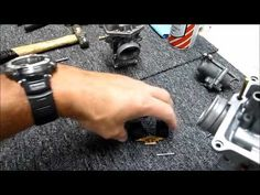 How to Repair 2 Stroke Mikuni Carby - KR250A RGV250 RG500 RZ500 PART 2