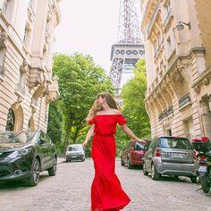 Paris my #france #Paris #parisstreets #france_vacations #cntraveller #eiffeltower #beautifulview #ootd #reddress #womaninred #beautiful #traveller #destinations #happy #instyle #beautifuldestinations #natgeotravel #travel #travelblog #travelblogger #beauty #photooftheday #all_shots #bdestinations by alexandrasolomonova