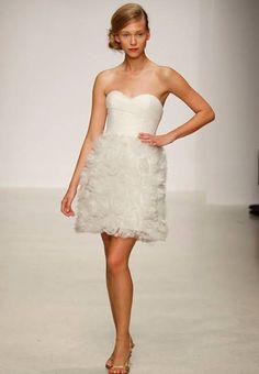 Amsale wedding dress Halle Berry