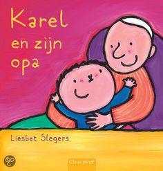 Ik en mijn familie - Boeken/versjes - UK&Puk. Voorleesboek Karel en zijn opa Simple Illustration, Grandma And Grandpa, Kids Prints, Grandparents, Preschool, Snoopy, Shapes, Projects, Cards