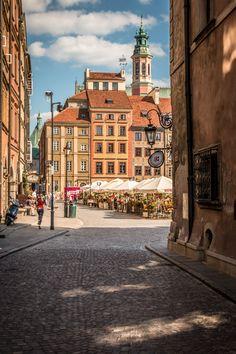 Warsaw Old Town Warsaw Old Town, Warsaw City, Warsaw Poland, Poland History, Heart Of Europe, Central Europe, Eurotrip, Eastern Europe, Hungary