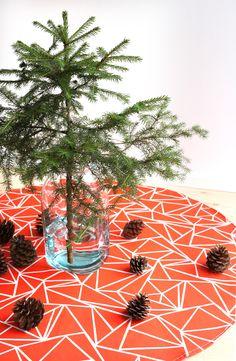 Muovo Christmas tree carpet