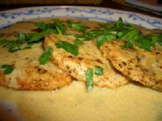 Kalyn's Kitchen: Turkey Cutlets with Dijon Sauce Recipe