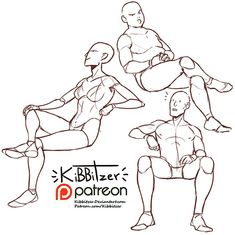 Anatomy Drawing Reference kibbitzer is creating Reference sheets, tutorials and Figure Drawing Reference, Body Reference, Drawing Reference Poses, Anatomy Reference, Drawing Tips, Drawing Tutorials, Painting Tutorials, Sitting Pose Reference, Drawing Body Poses