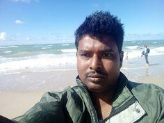 Sumit Bhattacharjee: At #Hirtshals #beach #port