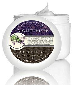 Facial Moisturizer - Organic & 100% Natural - Best Facial Moisturizer for Sensitive, Oily or Severely Dry Skin - Anti-Aging Moisturizing Cream - For Women - For Men -
