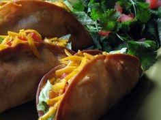 Beef and Potato Deep-Fried Tacos