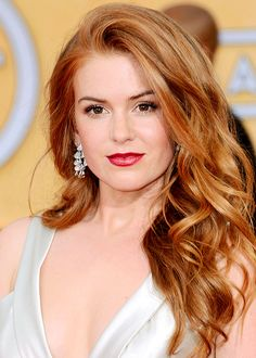 Red hair / Cheveux roux Isla Fisher