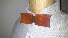 Noeud papillon en Bois d'Araucaria : Echarpe, foulard, cravate par exotikwood