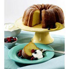 Bak ook een prachtige tulbandcake. De Nordic Ware vorm voor deze cake doet mee in de stijl van het voorjaar: hij is namelijk mooi geel!