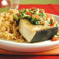 Swordfish Mexicana by Cooking Light