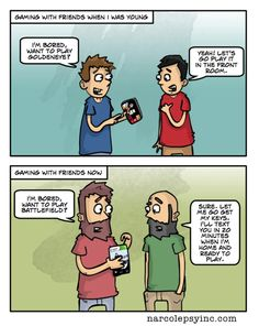 Gaming, Then and Now / I miss then... - Shade