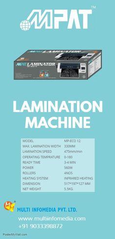 Paper Lamination machine,