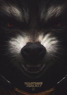 Alternative Guardians of the Galaxy Poster - Created by Yuri Shwedoff