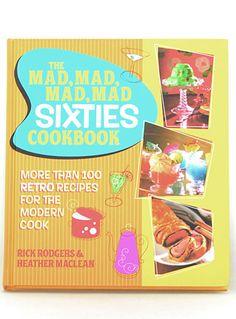 Mad, Mad, Mad, Mad Sixties Cookbook   PLASTICLAND