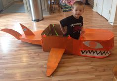 The Gup B from paper boxes for Octonauts party