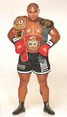 NZ Boxer David Tua. Samoan Legend and role model. Very nice guy.