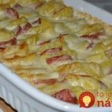 Kassler – Kartoffel – Gratin - New Site Quick Recipes, Pork Recipes, Quick Easy Meals, Asian Recipes, Cooking Recipes, Ethnic Recipes, Good Food, Yummy Food, Sauce Tomate