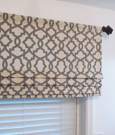 Custom Made Mock Roman Valance Faux Roman by supplierofdreams
