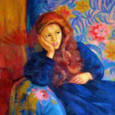 The Athenaeum - Pensive Girl (Giovanni Giacometti - )