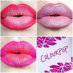 Colourpop cosmetics ombre lips lippie stix and pencils