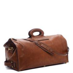Vintage Duffle with a Detachable Shoulder Strap.