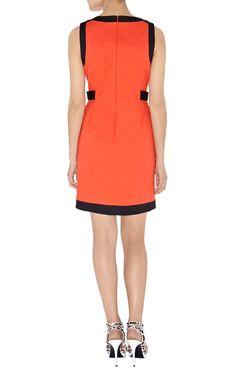 Ireland Karen Millen DL057 Sixties Shift Dress Black Red_2.jpg (875×1400)